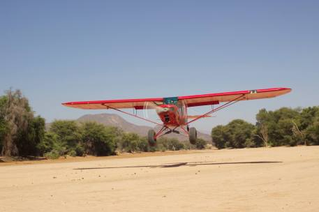 Short finals into Kipsing camp to visit LATTITUDE