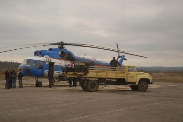 luggage handling services - Murmansk