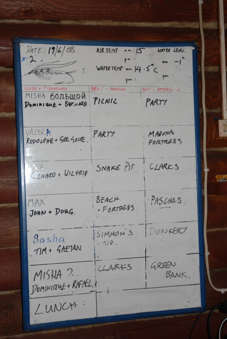the board at middle camp