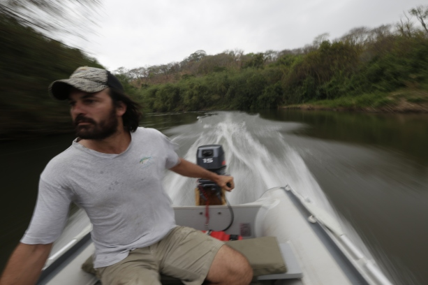 navigating the river is half the fun
